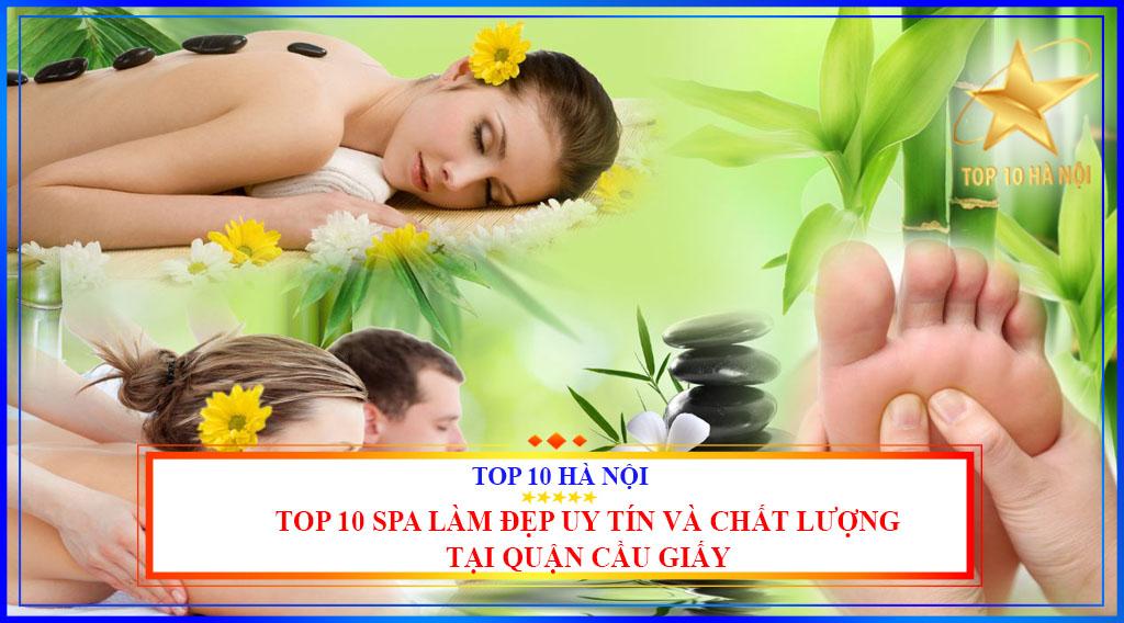 Top 10 spa làm đẹp uy tín và chất lượng tại quận Cầu Giấy
