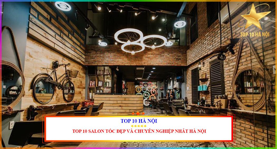 Salon làm tóc đẹp và chuyên nghiệp tại Hà Nội