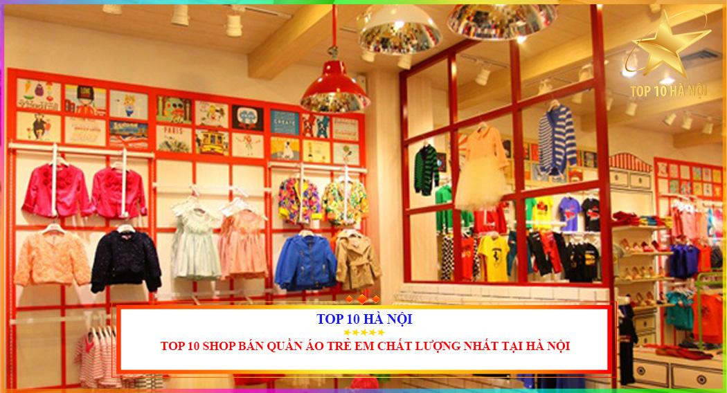 Shop bán quần áo trẻ em chất lượng nhất tại Hà Nội
