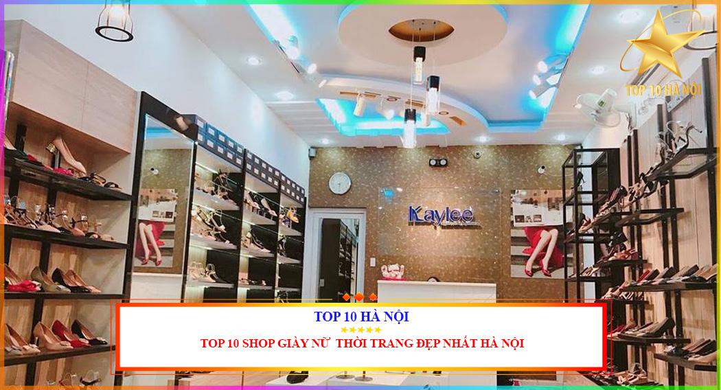 Shop giày nữ thời trang giá rẻ tại Hà Nội