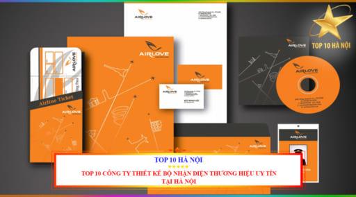 Top 10 công ty thiết kế bộ nhận diện thương hiệu uy tín tại Hà Nội
