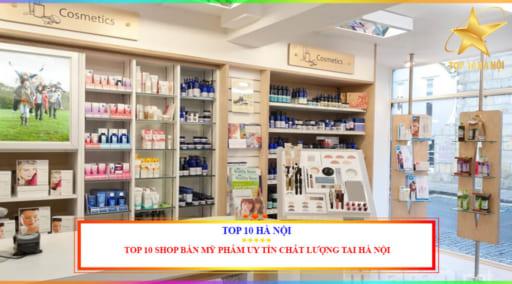Shop bán mỹ phẩm uy tín chất lượng tại Hà Nội