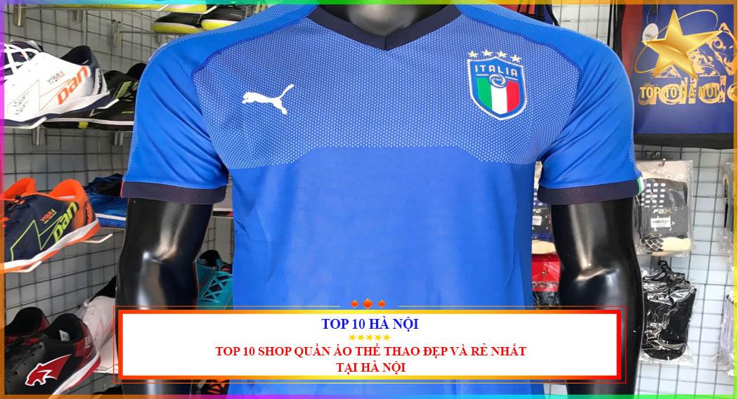 Top 10 shop quần áo thể thao đẹp và rẻ nhất tại Hà Nội