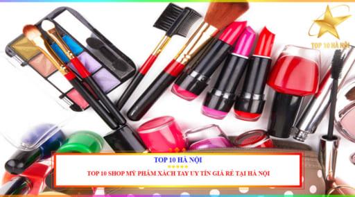 shop mỹ phẩm xách tay uy tín giá re tại Hà Nội
