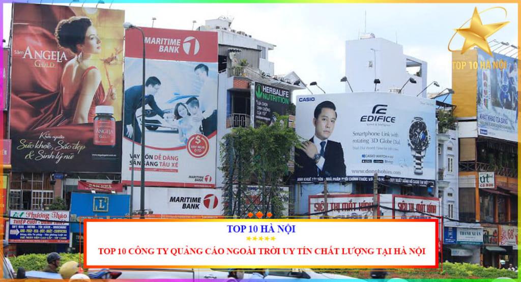 Top 10 công ty quảng cáo ngoài trời uy tín chất lượng nhất tại Hà Nội