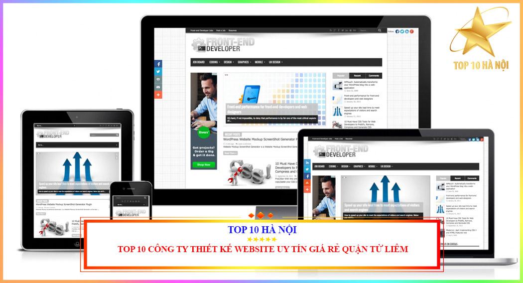 Công ty thiết kế website uy tín giá rẻ quận Từ Liêm