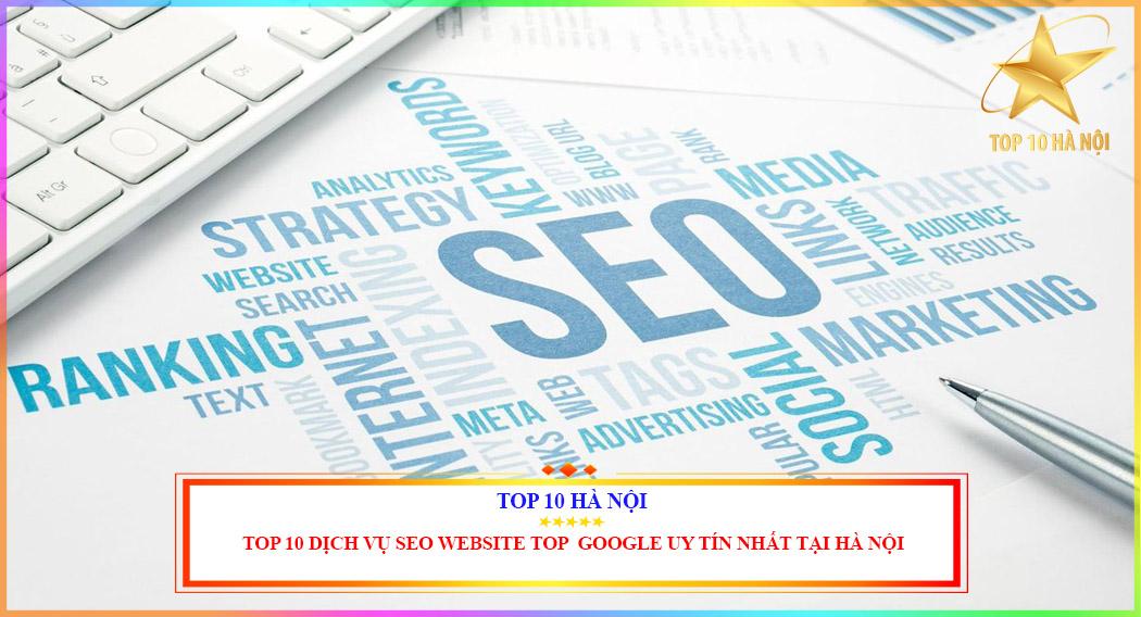 Dịch vụ seo website lên top google uy tín nhất tại Hà Nội