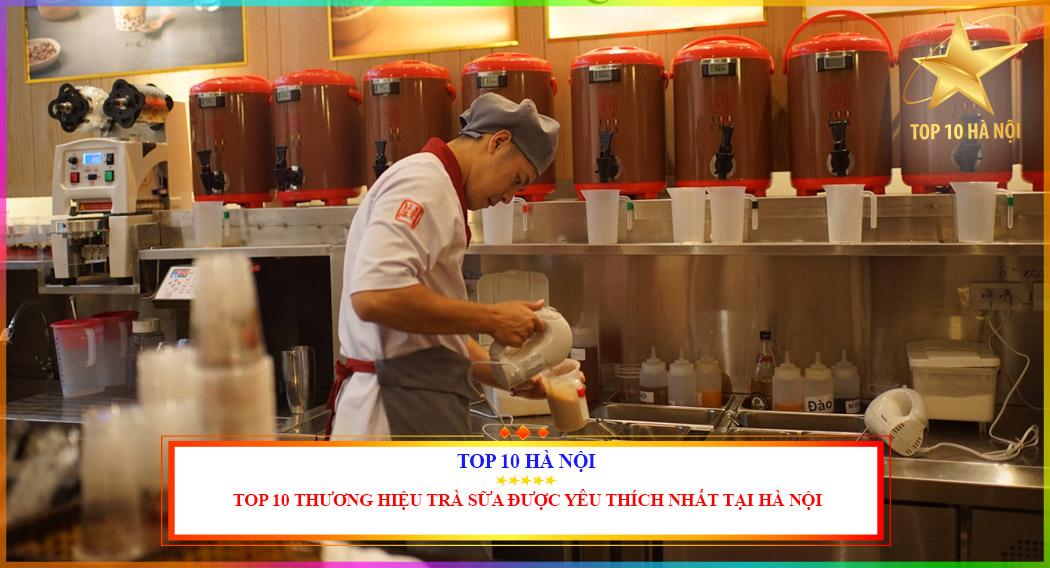 Trà sữa được yêu thích nhất tại Hà Nội