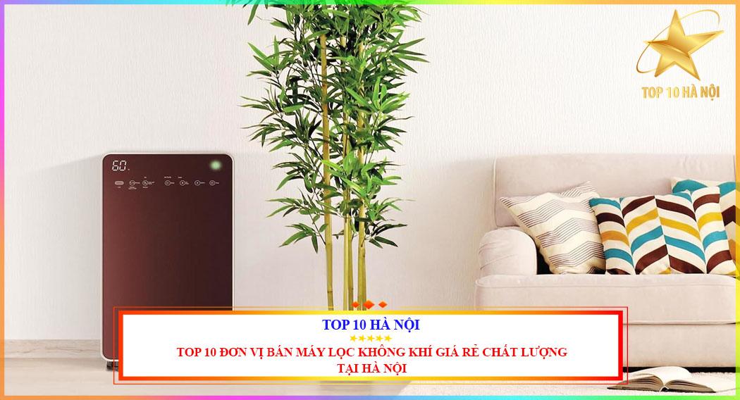 Top 10 đơn vị bán máy lọc không khí giá rẻ chất lượng tại Hà Nội